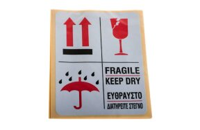 LABELS FRAGILE KEEP DRY